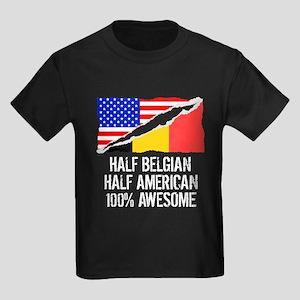 Half Belgian Half American Awesome T-Shirt
