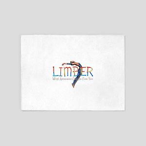 Limber Workout 5'x7'Area Rug
