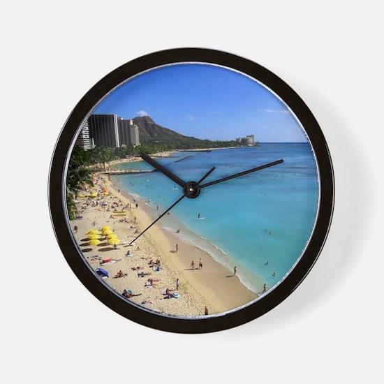 Unique Honolulu Wall Clock