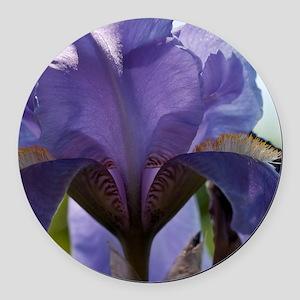 Iris Round Car Magnet