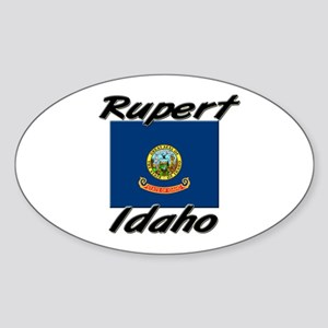Rupert Idaho Oval Sticker