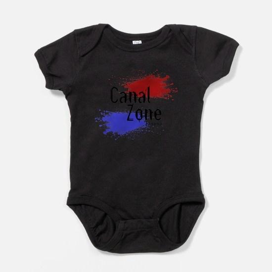 Stylized Panama Canal Zone Infant Bodysuit Body Su
