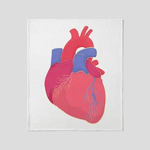 Valentine Heart Throw Blanket