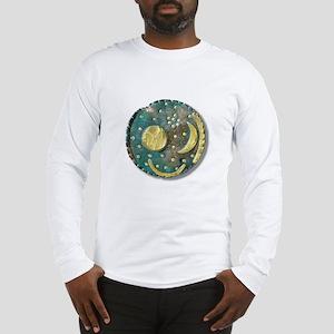 Nebra sky disk, Bronze Age - Long Sleeve T-Shirt