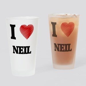I love Neil Drinking Glass