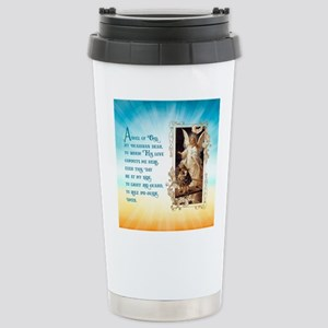 Angel of God (Day) Stainless Steel Travel Mug