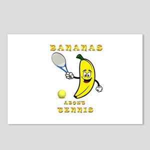 Bananas About Tennis Postcards (Package of 8)