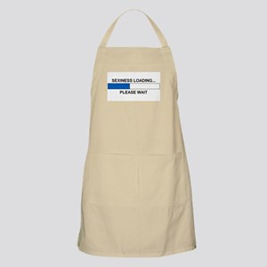 SEXINESS LOADING... BBQ Apron