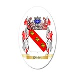 Pfeifer 35x21 Oval Wall Decal