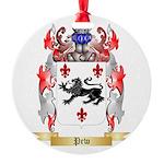 Pew Round Ornament
