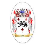 Pew Sticker (Oval)