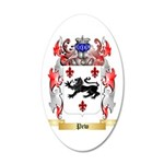 Pew 35x21 Oval Wall Decal