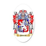 Peverall Oval Car Magnet