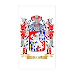 Peverall Sticker (Rectangle 50 pk)