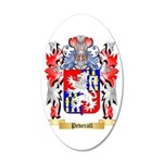 Peverall 35x21 Oval Wall Decal