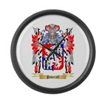 Peverall Large Wall Clock