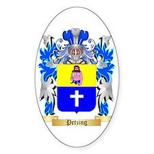 Petzing Sticker (Oval)