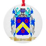 Petty Round Ornament