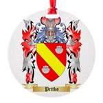 Pettko Round Ornament
