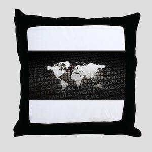 Global Subscriptio Throw Pillow