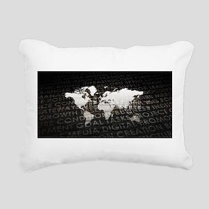 Global Subscriptio Rectangular Canvas Pillow