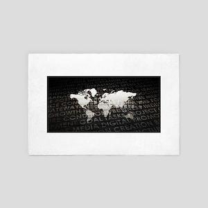 Global Subscriptio 4' x 6' Rug