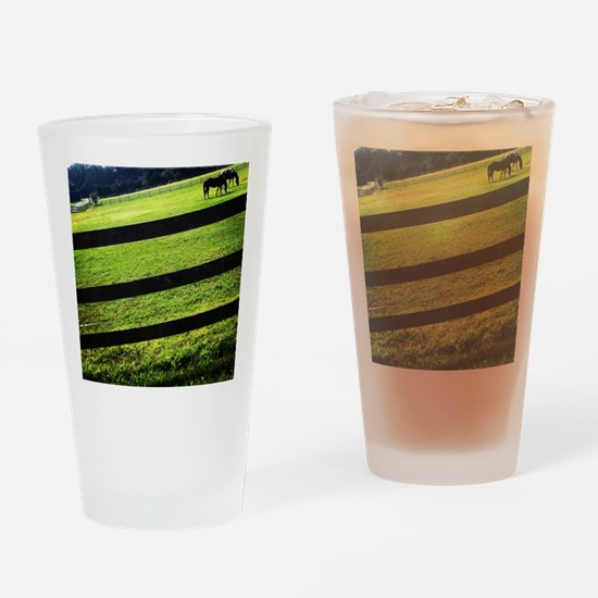 Horses cups Drinking Glass