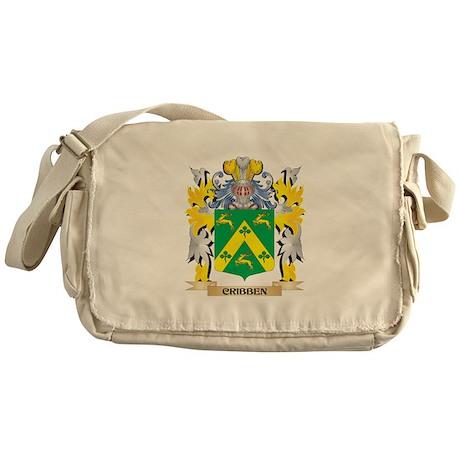 Cribben Coat of Arms - Family Crest Messenger Bag