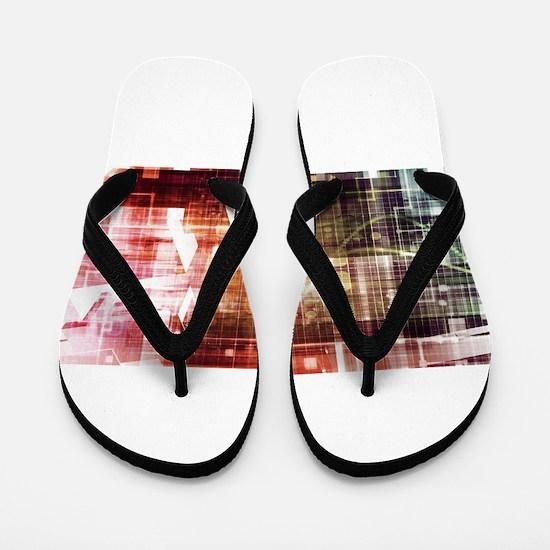 Digital Imagery wi Flip Flops