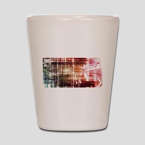 Digital Imagery wi Shot Glass