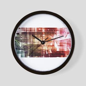 Digital Imagery wi Wall Clock