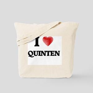 I love Quinten Tote Bag