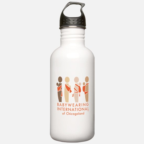 Funny Babywearing Water Bottle