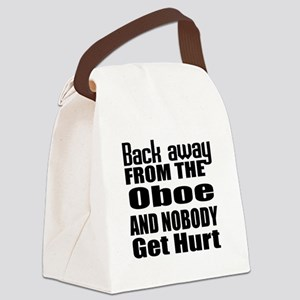 Oboe and nobody get hurt Canvas Lunch Bag