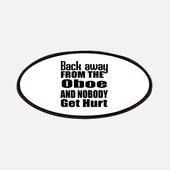 Oboe and nobody get hurt Patch