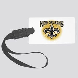New Orleans Team Large Luggage Tag