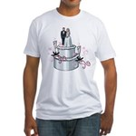 Wedding Cake Fitted T-Shirt