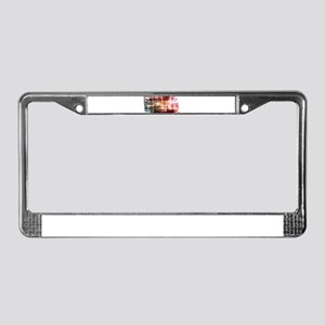 Digital Imagery wi License Plate Frame
