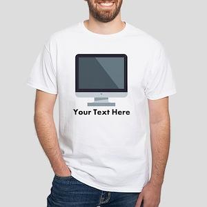 Emoji Computer Personalized Men's Classic T-Shirts