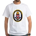 USS CLIFTON SPRAGUE White T-Shirt