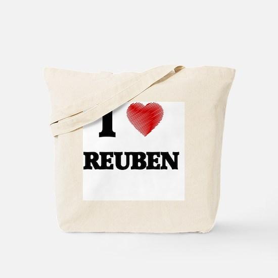 I love Reuben Tote Bag