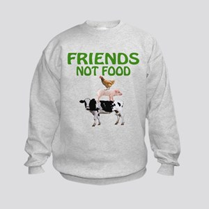 FRIENDS NOT FOOD Sweatshirt