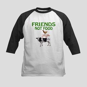 FRIENDS NOT FOOD Baseball Jersey