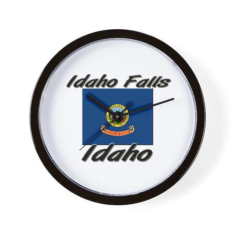 Idaho Falls Idaho Wall Clock