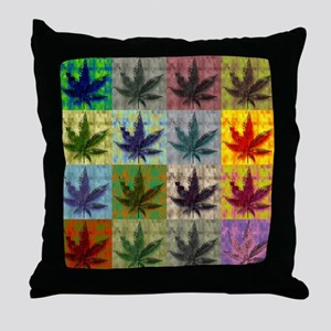 Potleaf Art Throw Pillow