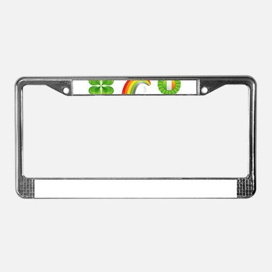 saint patricks day License Plate Frame