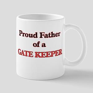 Proud Father of a Gate Keeper Mugs