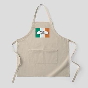 Irish Flag Welcome Apron