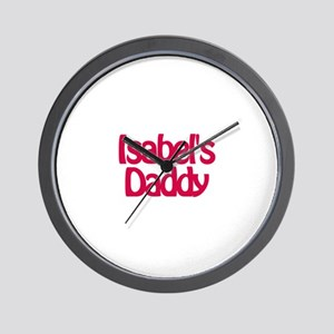 Isabel's Daddy Wall Clock