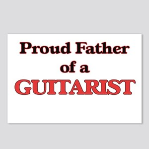 Proud Father of a Guitari Postcards (Package of 8)